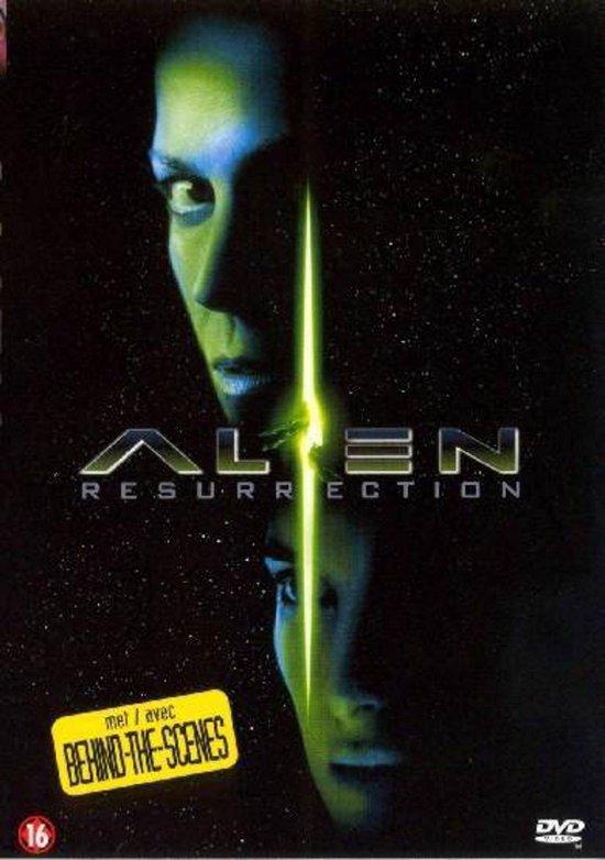 Cover van de film 'Alien - Resurrection'
