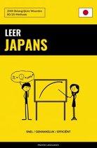 Leer Japans - Snel / Gemakkelijk / Efficiënt