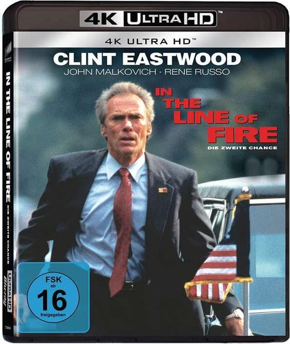 In The Line Of Fire (Ultra HD Blu-ray)-