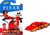 Hot Wheels The Incredibles - Fish Chip - Die Cast auto - 7 cm