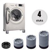 Care-Less Wasmachine Verhoger 9CM - Antislip Wasmachine Voeten - Trillingsdempers Wasmachine - Geluidsdemper Wasmachine - Anti Vibratie Wasmachine - Anti Vibratie Pads - Wasdroger Verhoger - Koelkast Verhoger