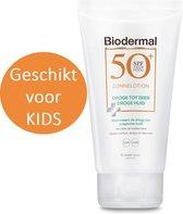 Biodermal Zonnelotion Droge Huid - zonnebrand voor de droge huid - Spf50+ 150ml - ook geschikt voor kinderen