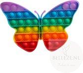 Pop-it – Regenboog Vlinder – XL fidget