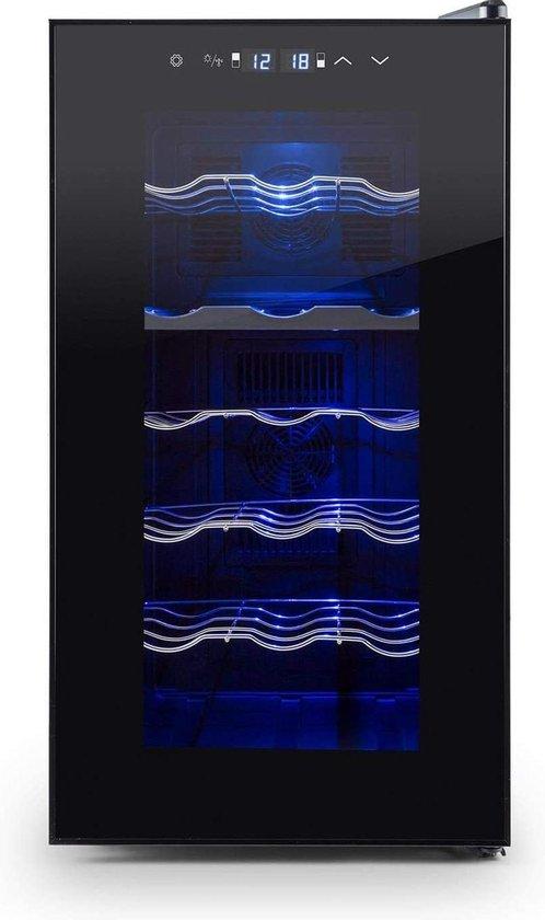 Koelkast: Elsenberg Essentials® Klarenstein Black Edition Premium - Wijnkoelkast, van het merk Elsenburg Essentials