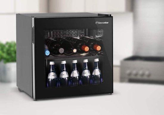 Koelkast: Elsenberg Essentials® Inven Premium | Mini Koelkast | Drankenkoelkast | Flessenkoelkast | Mini Bar | Glazen deur | 43L, van het merk Elsenburg Essentials