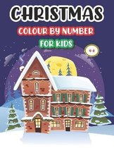 Christmas Colour by Number for Kids 4-8