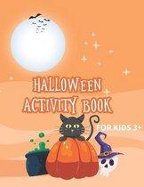 Halloween activity book for kids 3+