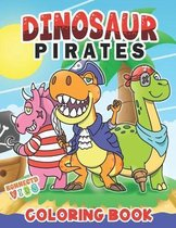 Dinosaur Pirates Coloring Book