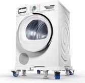 Wasmachine verhoger - Wasmachine opbouwmeubel - Verhoger wasmachine - Universeel - Verstelbaar