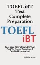 Boek cover TOEFL iBT Test Complete Preparation van G Education