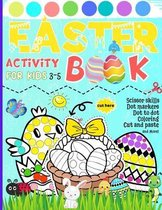 Easter Activity Book for Kids 3-5