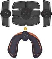 EMS trainer- Buikspiertrainer + Gratis billentrainer-Trilapparaat-Armen trainer-Billen trainer-Spierstimulator-Trainer elektrische