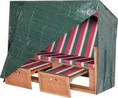 Strandstoel Beschermhoes 2 Ritsen 125 x 90 x 165 cm Schommelstoel Afdekzeil Hoes