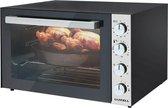 XXL Luxell Elektrische Oven - 70 Liter - Vrijstaand - Dubbel Glas - Turbo - 2000W