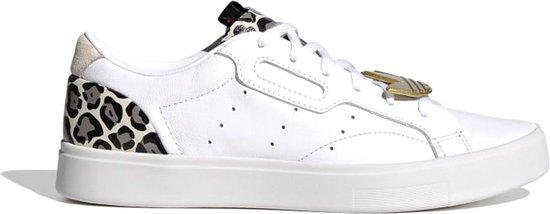 adidas Sneakers – Maat 38 – Vrouwen – wit – grijs – zwart