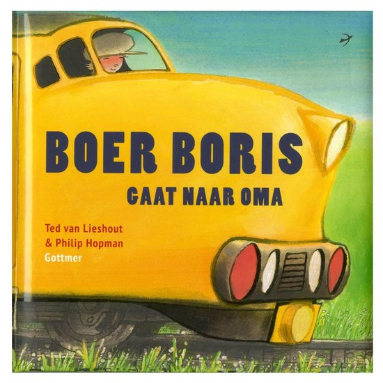 Boek Boer Boris Gaat Naar Oma