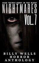 Omslag Nightmares- Volume 7- A Billy Wells Horror Anthology