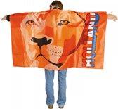 Juichcape - Vlagcape  - Oranje Leeuw - Voetbal - Nederlands Elftal - Hup Holland