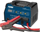 FERM Acculader - incl. impuls druppellading & starthulp - 6V/12V
