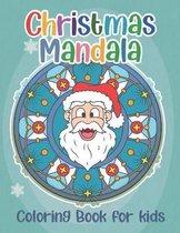 Christmas Mandala Coloring Book for Kids