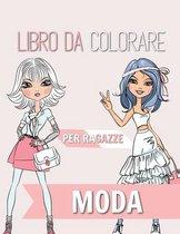 Moda Libro da colorare per ragazze