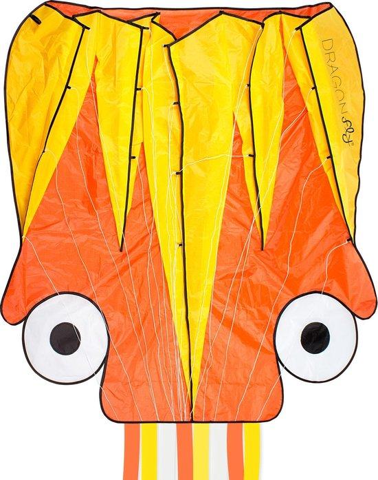 Dragon Fly Vlieger - Octopus - Oranje/Geel