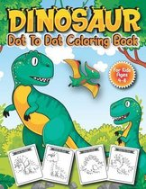 Dinosaur Dot to Dot Coloring Book for Kids Ages 4-8