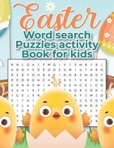 Easter Word Search Puzzles Activity Book For Kids