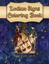 Zodiac Signs Coloring Book