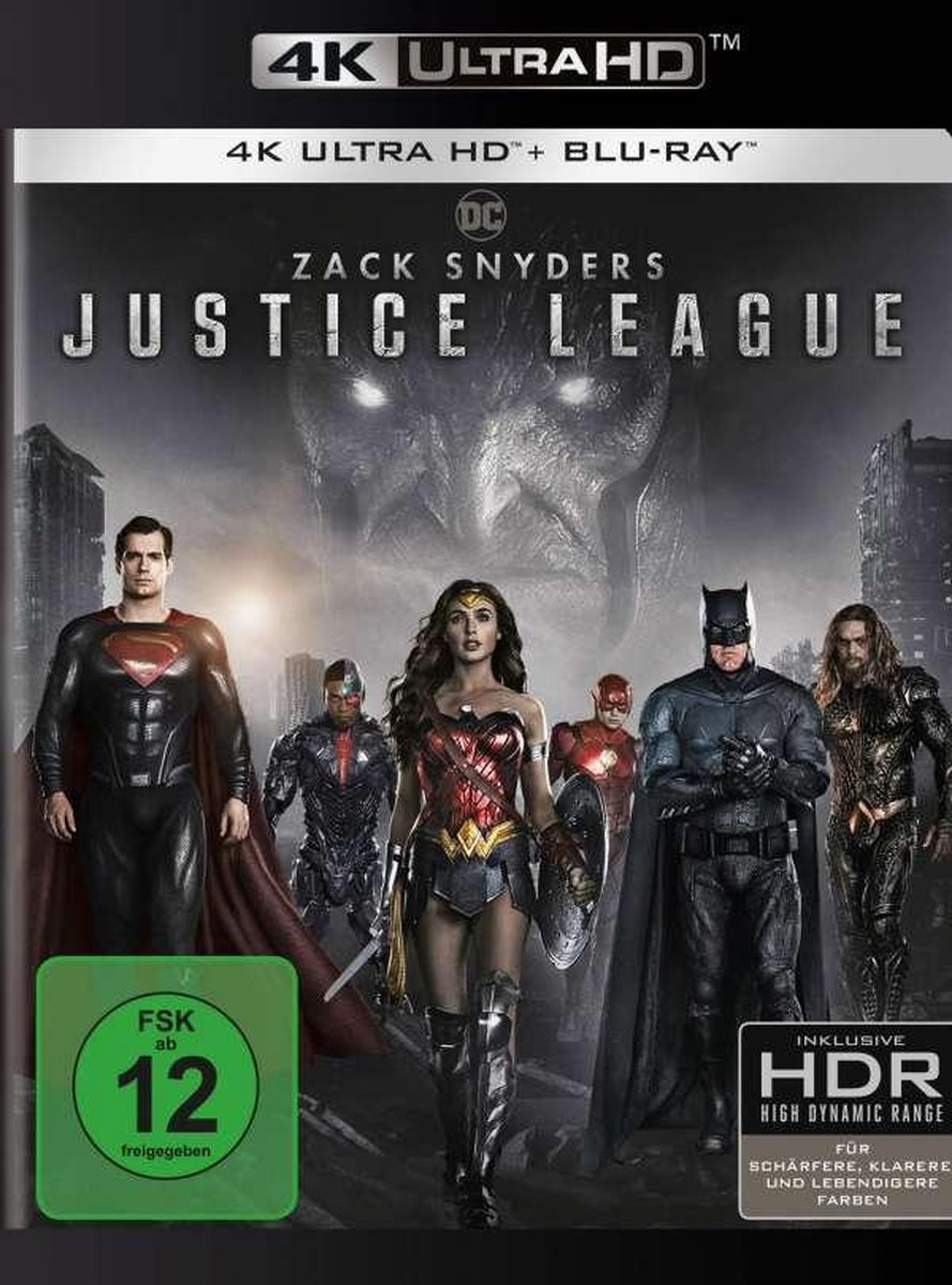 Zack Snyder's Justice League (Ultra HD Blu-ray & Blu-ray)-