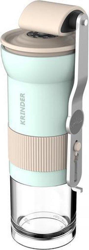 Cafflano Krinder Mint - lichtgewicht handmatige koffiemolen