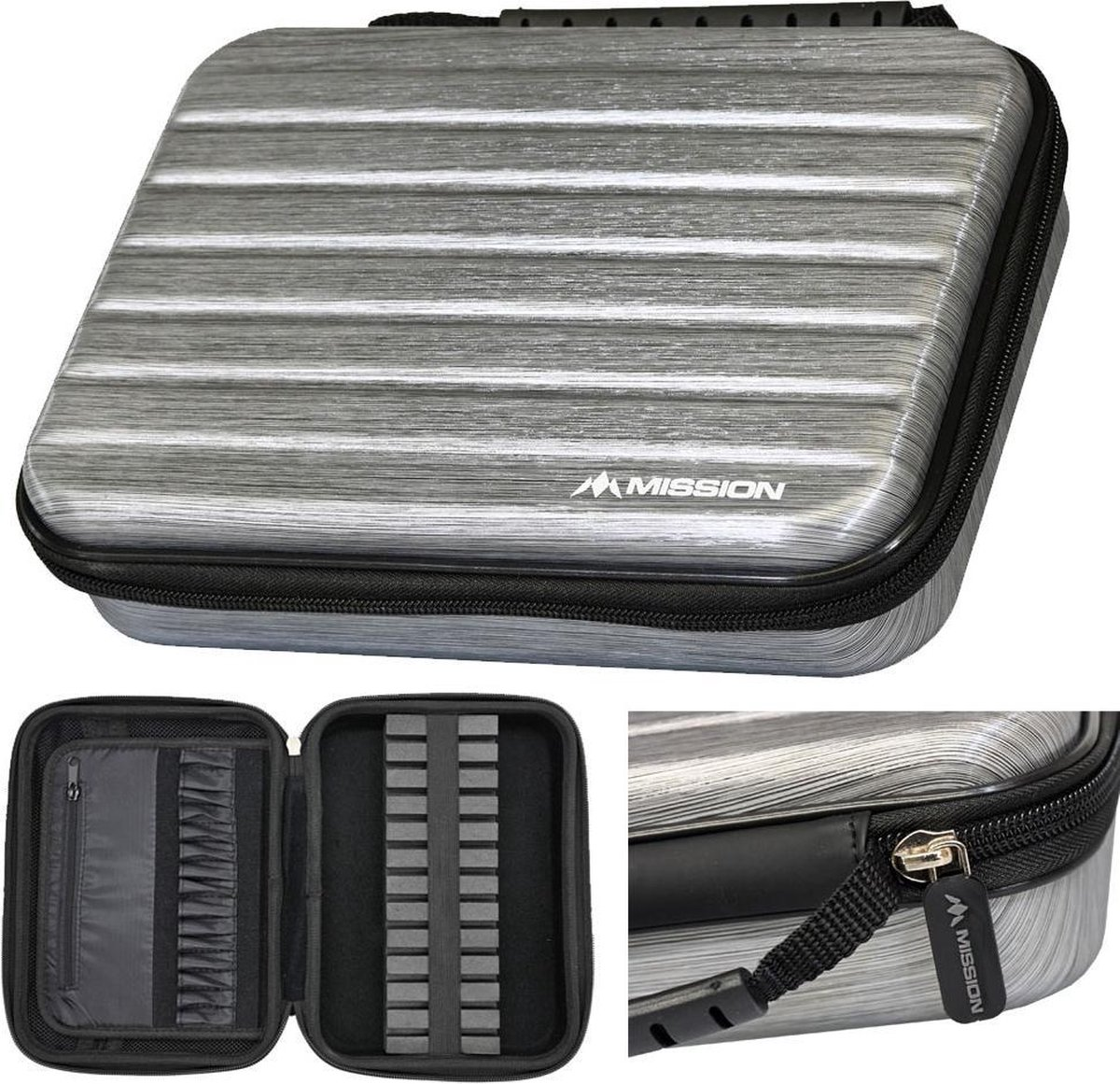 Mission Dart case ABS-4 Silver