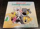 Woezel en Pip prentenboek - voorleesboek kleuters - Eindelijk vakantie - Guusje Nederhorst