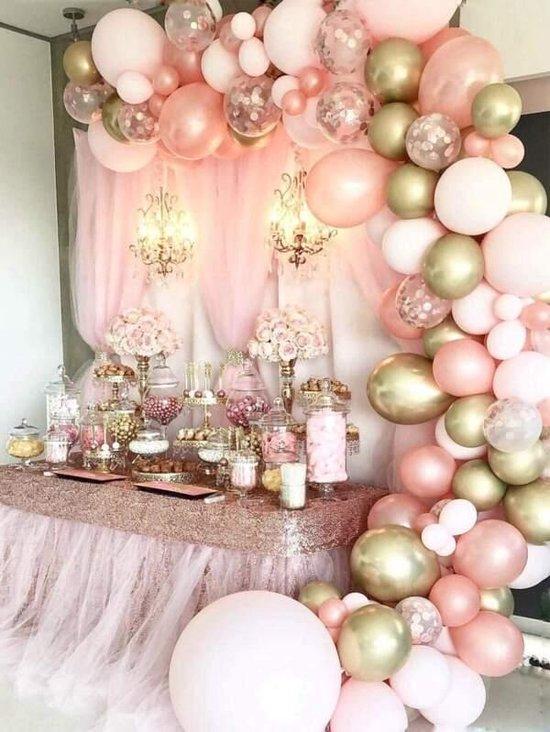 126-delige luxe ballonboog ballon decoratie feest
