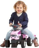 Falk Tractor Pink Set met accecoires 1/3
