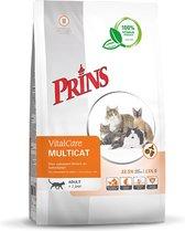 Prins VitalCare Kat Multicat - Kattenvoer - 10 kg