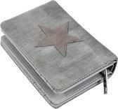 Dames Portemonee – Mini Wallet – Compacte Portemonnee - Kunst Leer – Kaart Houder – K601 donker groen