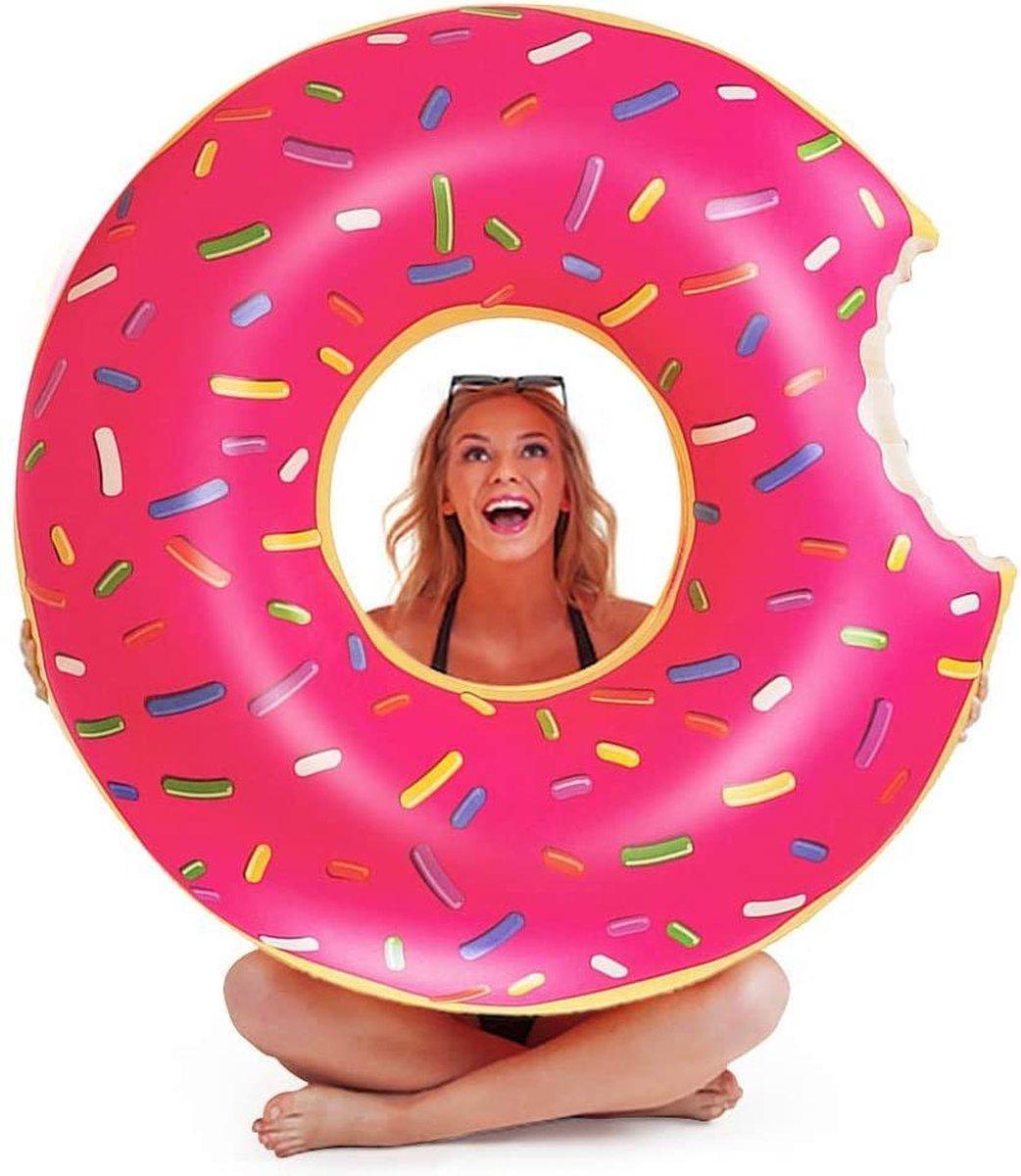 Zwemband | Zwembad | Donut | Luchtmatras | Luchtbed | 120 cm | PVC