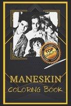 Maneskin Coloring Book