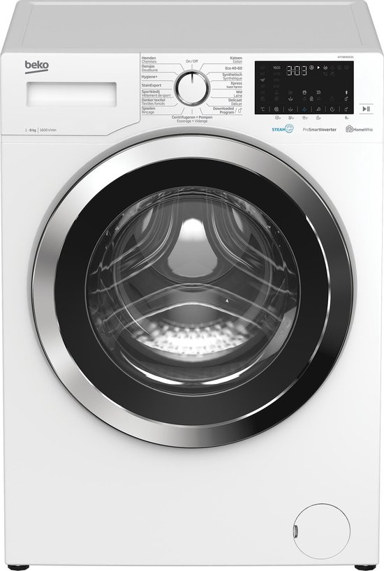 Beko WTV8836XC01 - Wasmachine