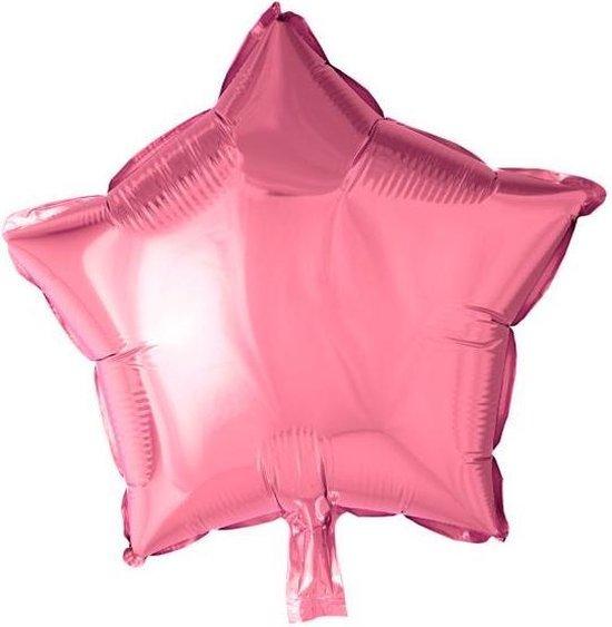 Globos Folieballon Ster 46 Cm Roze