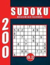 Sudoku Erwachsene Medium Bis Schwer Band 2