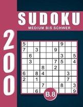 Sudoku Erwachsene Medium Bis Schwer Band 8