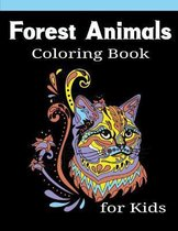 Forest Animal Coloring Book Kids