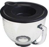 4,8L Glazen mengkom – voor Keukenrobots met kantelbare kop