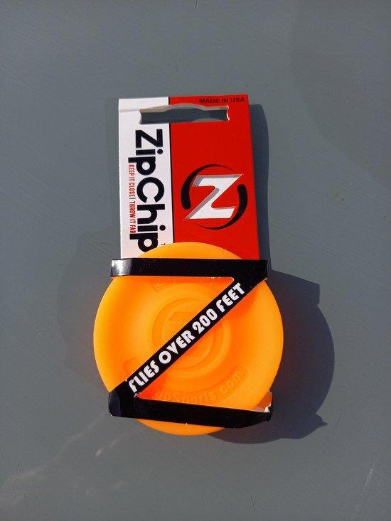 Zipchip official - Oranje - frisbee mini