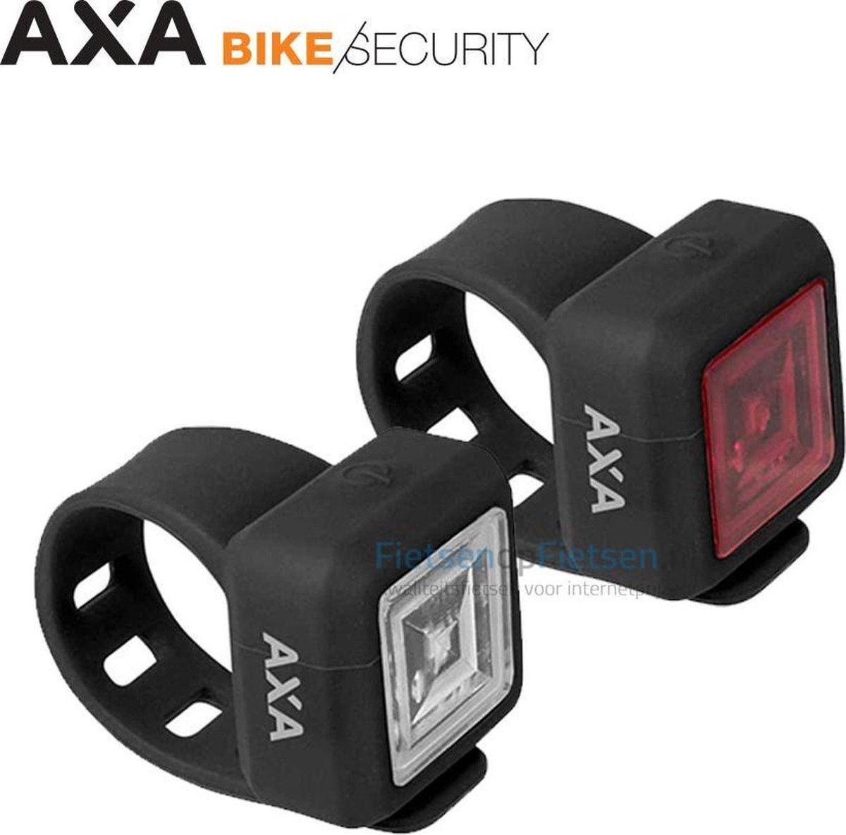 AXA Niteline 11 Fietsverlichtingsset - Batterij - LED
