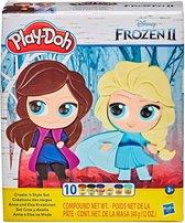 Play-Doh Frozen 2 Elsa en Anna Create & Style - Klei Speelset