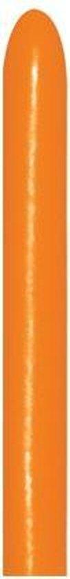 260 - Orange - sempertex - 50 Stuks - modeleerballon, kindercrea