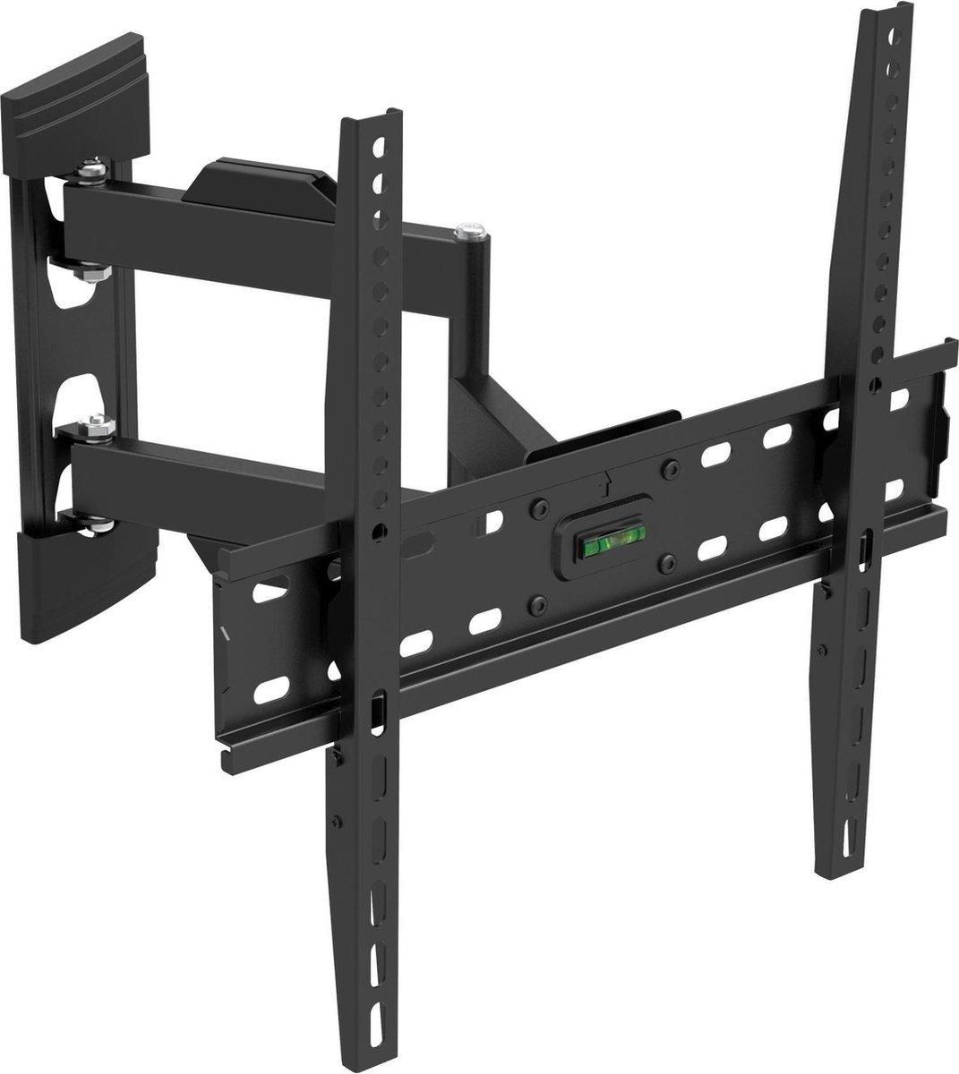 Belife  Universele TV Muurbeugel 32 tot en met 55 inch   Full Motion Extra Slim   TV Wall mount